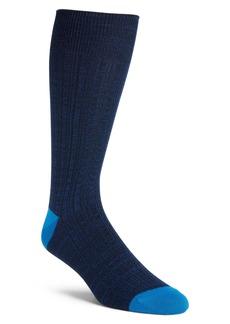 Nordstrom Men's Shop Variegated Ribbed Ultrasoft Socks (3 for $30)