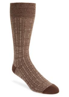 Nordstrom Men's Shop Variegated Ribbed Ultrasoft Socks