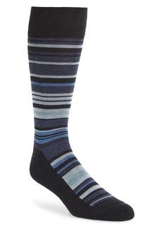 Nordstrom Men's Shop Variegated Stripe Socks