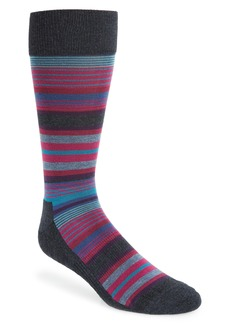 Nordstrom Men's Shop Variegated Stripes Socks