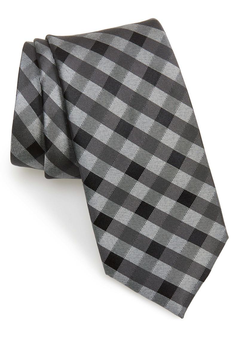Nordstrom Men's Shop Vaughan Check Silk Tie