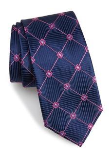 Nordstrom Men's Shop Windowpane Silk Tie