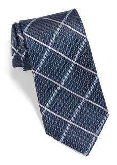Nordstrom Men's Shop Windowpane Silk Tie