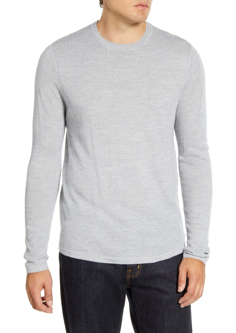 Nordstrom Men's Shop Wool Blend Crewneck Sweater