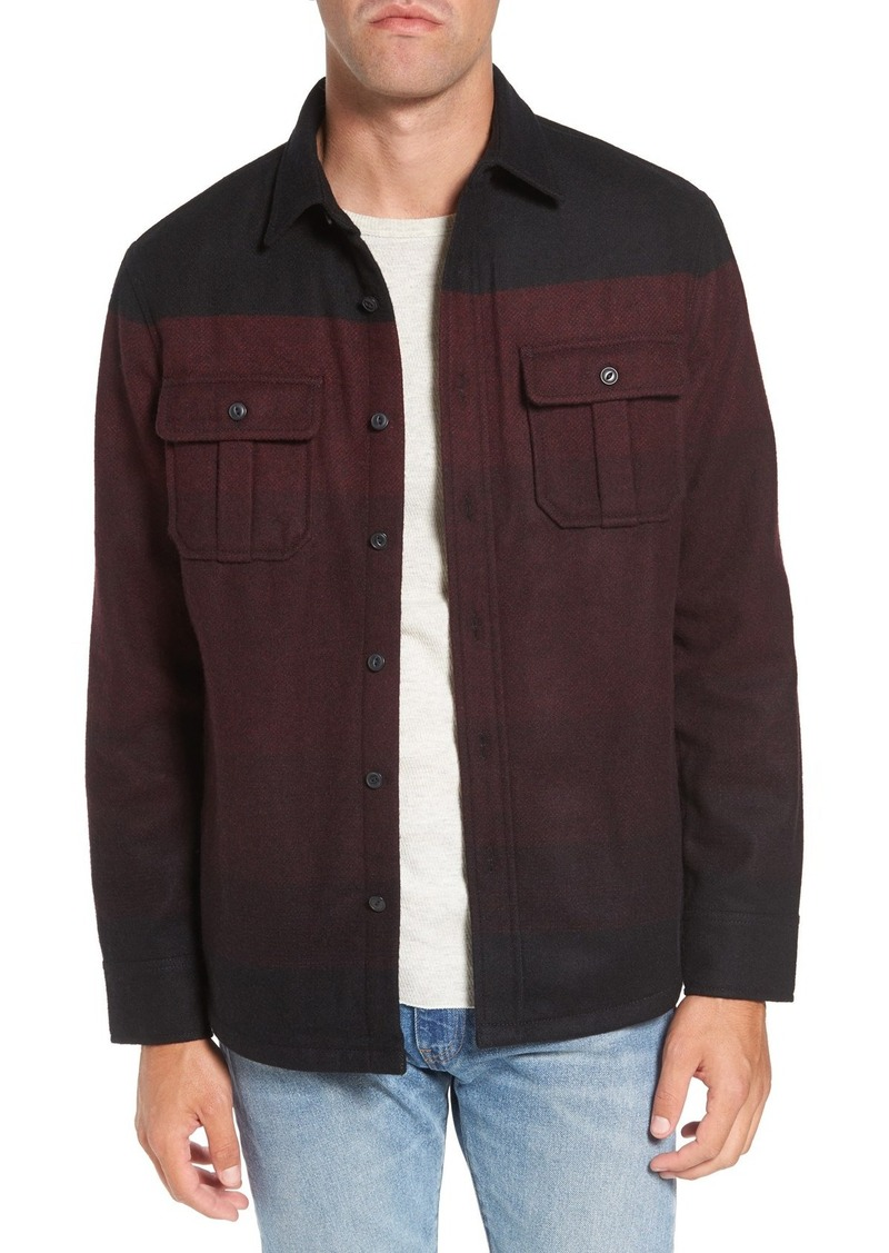 Nordstrom Men's Shop Wool Blend Shirt Jacket (Regular & Tall)