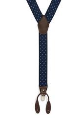 Nordstrom Men's Shop Woven Dot Suspenders