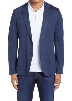 Nordstrom X-Trim Fit Mélange Knit Sport Coat