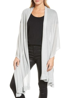 Nordstrom Metallic Knit Wrap