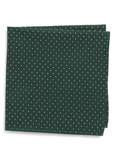Nordstrom Micro Dot Pocket Square (Big Boys)