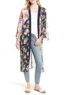 Nordstrom Mix Print Kimono