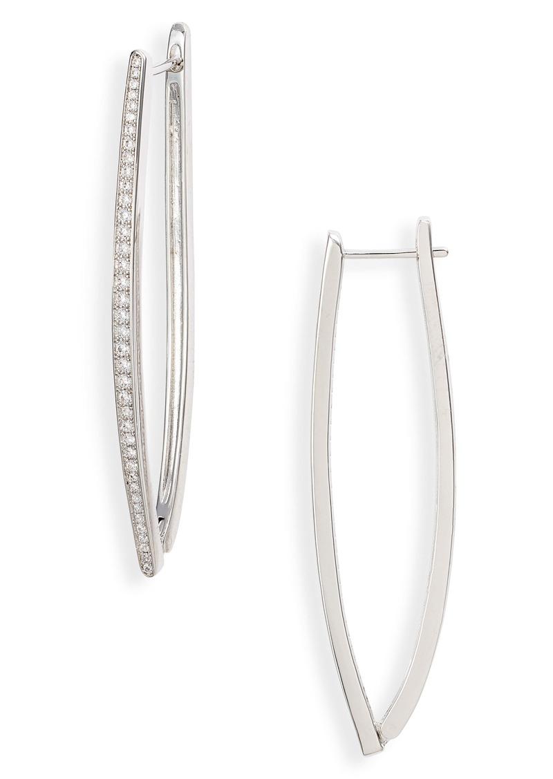 Nordstrom Modern Angled Hoop Earrings