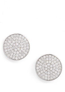 Nordstrom Pavé Disc Stud Earrings