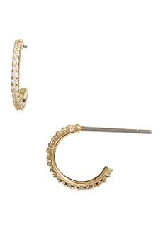 Nordstrom Pavé Huggie Hoop Earrings