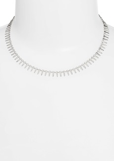 Nordstrom Pavé Modern Spike Necklace