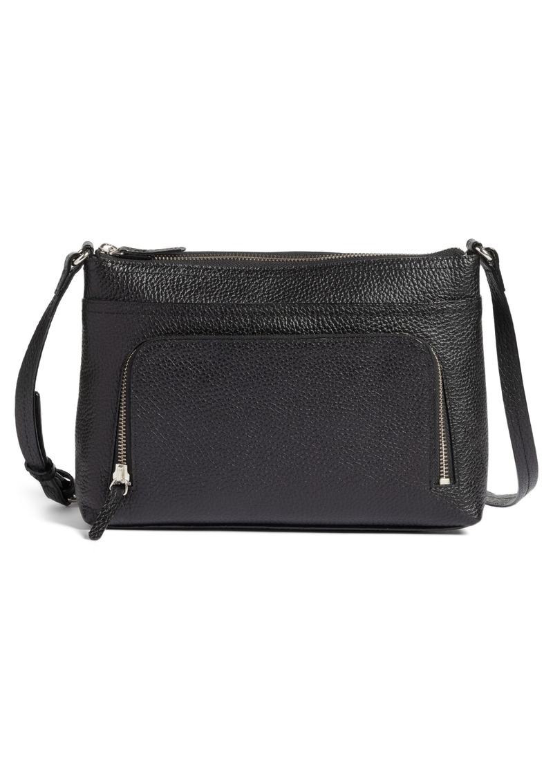 Nordstrom Pebbled Leather Crossbody Bag