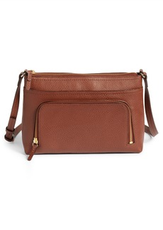 Nordstrom Pebbled Leather Crossbody Bag