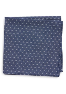 Nordstrom Polka Dot Silk Pocket Square