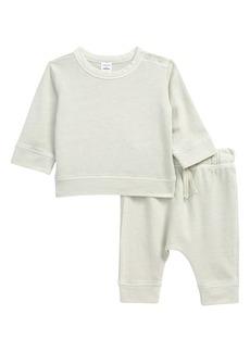 Nordstrom Print Fleece Sweatshirt & Pants Set (Baby)
