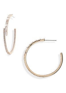 Nordstrom Radiant Inside-Out Hoop Earrings