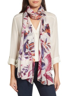 Nordstrom Rainforest Beauty Silk Scarf