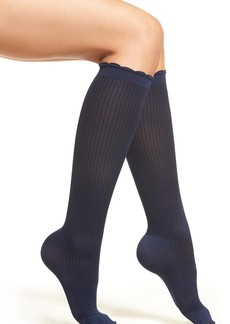 Nordstrom Ribbed Compression Trouser Socks