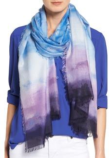 Nordstrom Saharan Colorwash Cashmere & Silk Scarf