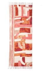 Nordstrom Sandwashed Tissue Weight Wool & Cashmere Twill Scarf