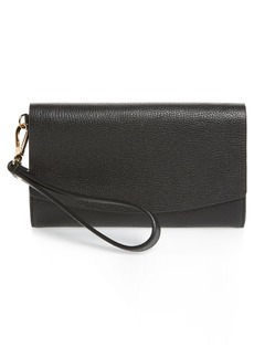 Nordstrom Sara Leather Wristlet