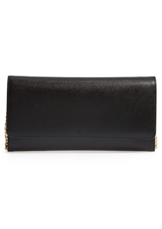 Nordstrom Selena Leather Clutch - Black