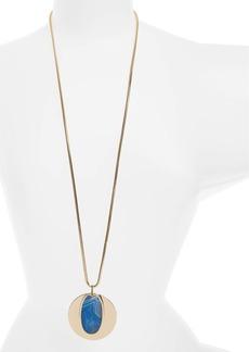 Nordstrom Semiprecious Stone Pendant Necklace