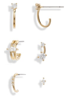 Nordstrom Set of 6 Ear Party Earrings