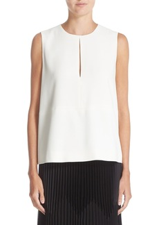 Nordstrom Signature and Caroline Issa Crepe Swing Top