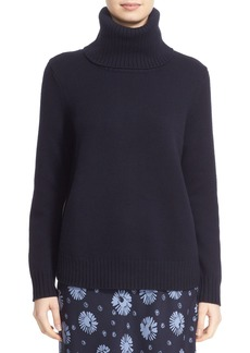 Nordstrom Signature and Caroline Issa Merino Wool Side Zip Pullover