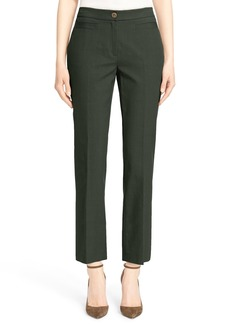 Nordstrom Signature and Caroline Issa Stretch Cotton Bootcut Ankle Pants