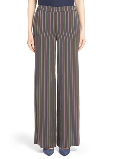 Nordstrom Signature and Caroline Issa Stripe Pants