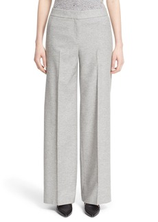 Nordstrom Signature and Caroline Issa 'Winter' Flannel Wide Leg Pants