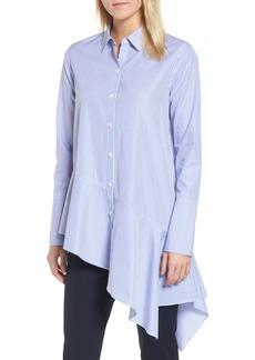 Nordstrom Signature Asymmetrical Stripe Shirt