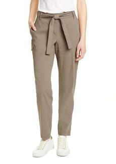 Nordstrom Signature Belted Linen Blend Pants