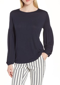 Nordstrom Signature Blouson Long Sleeve Top