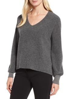 Nordstrom Signature Bouclé Cashmere Blend Sweater
