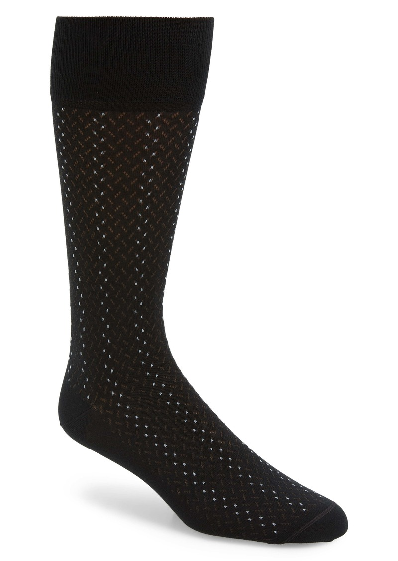 Nordstrom Signature Broken Lines Socks