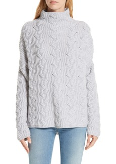 Nordstrom Signature Cable Cashmere Knit Sweater