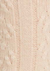 Nordstrom Signature Cable Knit Cashmere Crew Socks
