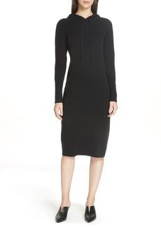 Nordstrom Signature Cashmere Blend Hoodie Dress