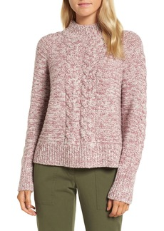 Nordstrom Signature Cashmere Cable Knit Sweater