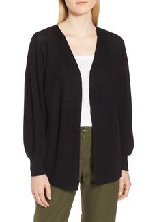 Nordstrom Signature Cashmere Linen Cardigan Sweater