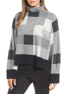 Nordstrom Signature Check Plaid Cashmere Sweater