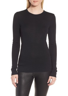 Nordstrom Signature Crewneck Rib Knit Top