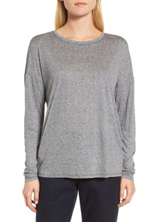 Nordstrom Signature Drop Shoulder Stripe Tee