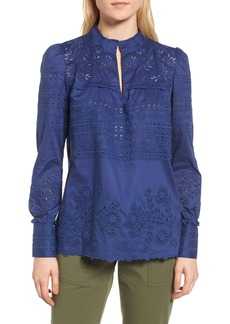 Nordstrom Signature Eyelet Blouse